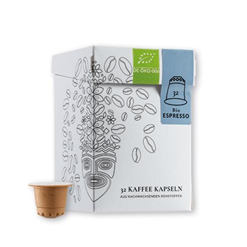 Explorer Coffee Bio Espresso Kapseln