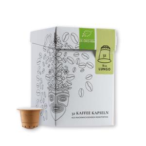 Explorer Coffee Bio Lungo Kapseln