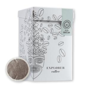 Explorer Coffee Entcoffeinierte Kaffee Pads