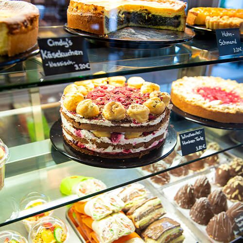Köstliche Kuchenauswahl